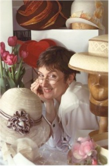 Photo of Ruth and her hats